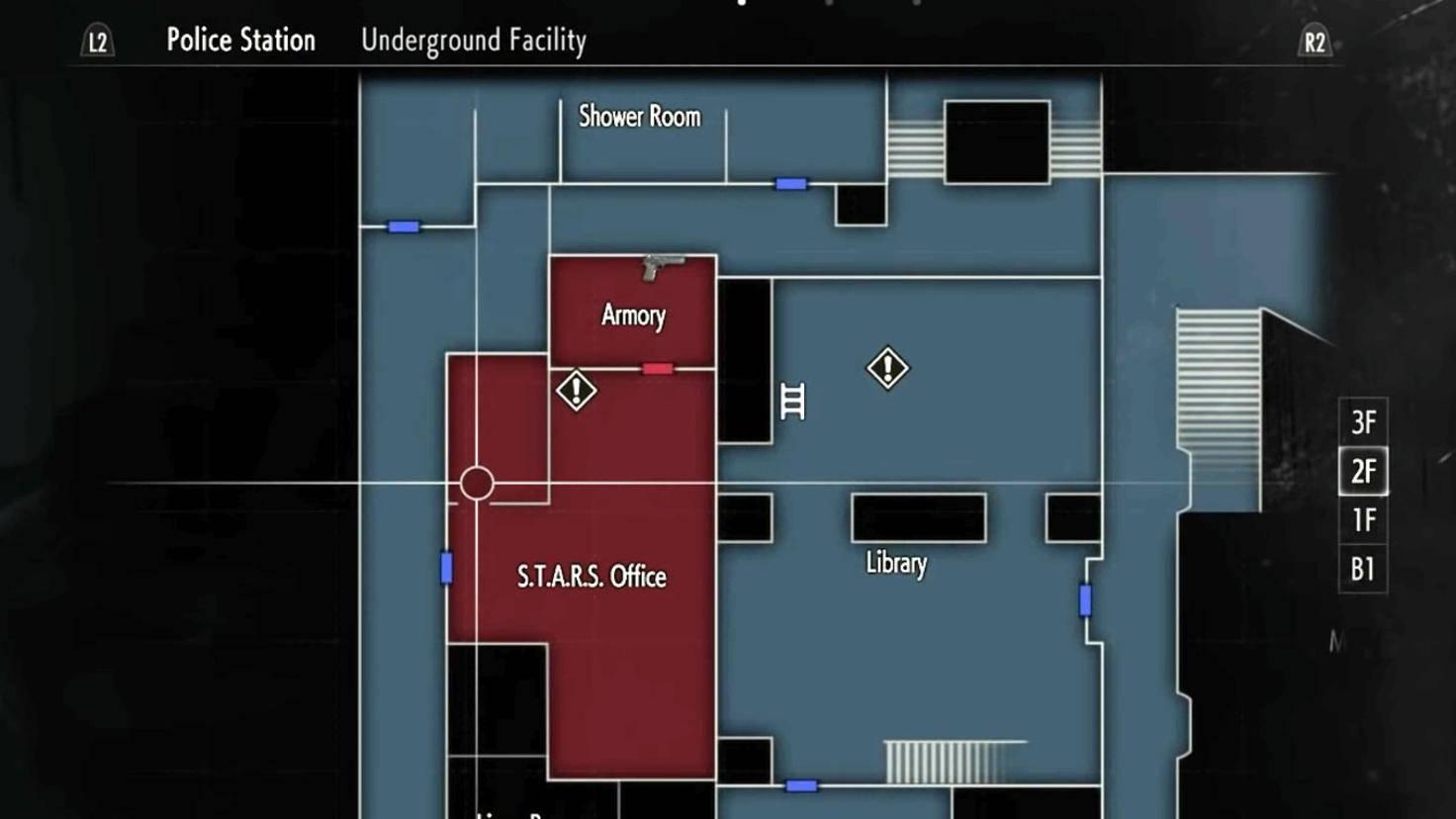Die Batterie aus dem S.T.A.R.S.-Büro ist der zweite Bestandteil, den Du zum Zünden der C4-Ladung brauchst.