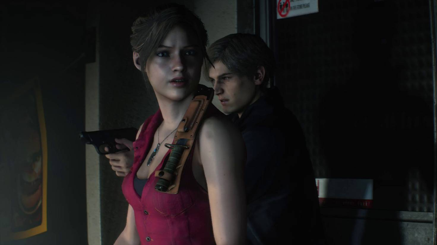 resident-evil-2-claire-leon-intro