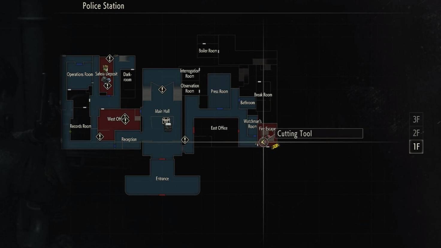 """""""Resident Evil 2""""-Remake: Hier gibt's das Schneidwerkzeug."""