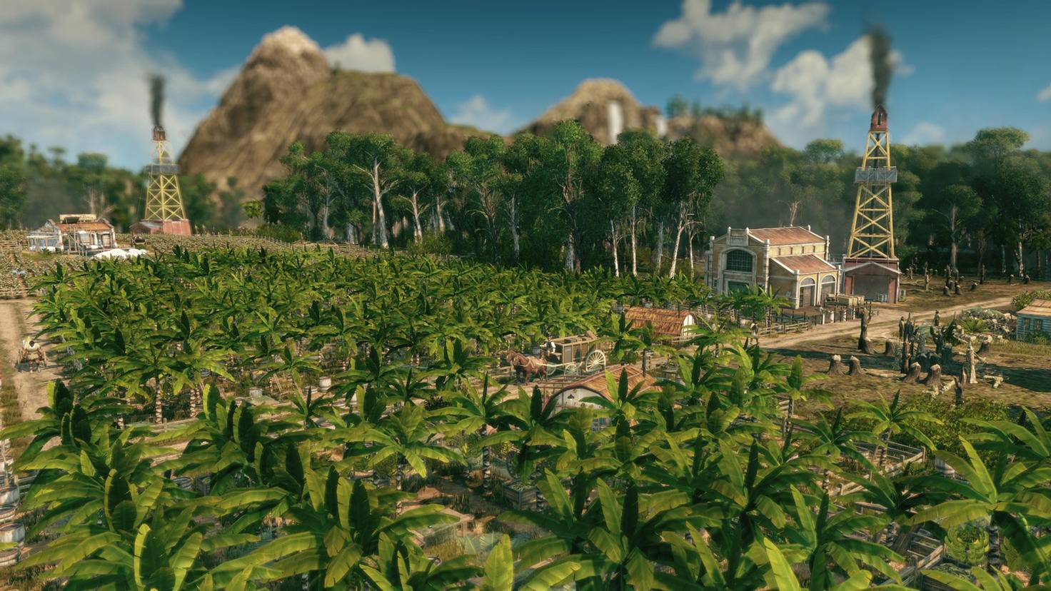 """In der neuen """"Anno""""-Welt können zahlreiche exotische Obstsorten angebaut und exportiert werden."""