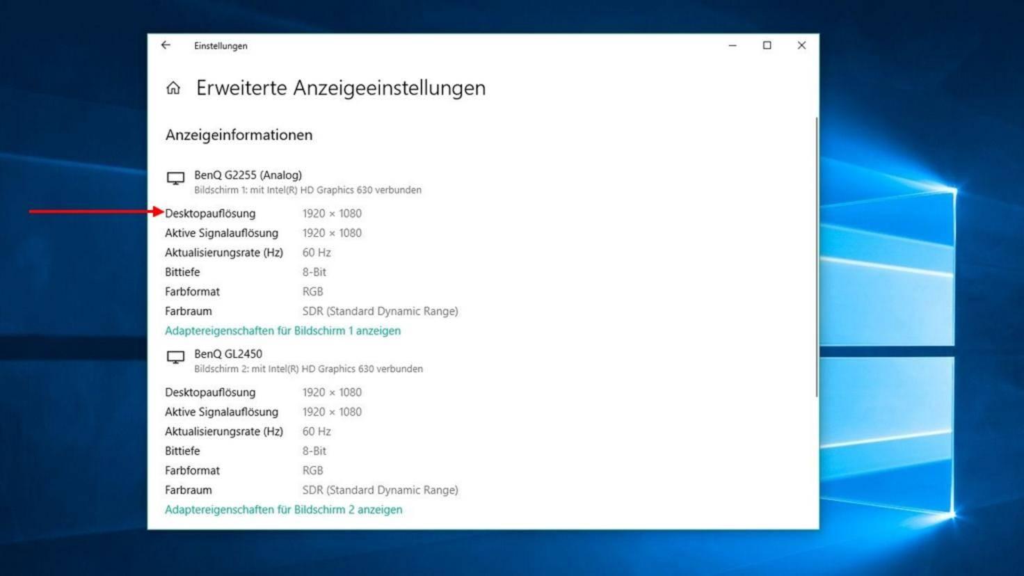 Anzeigeneinstellungen-Windows-10