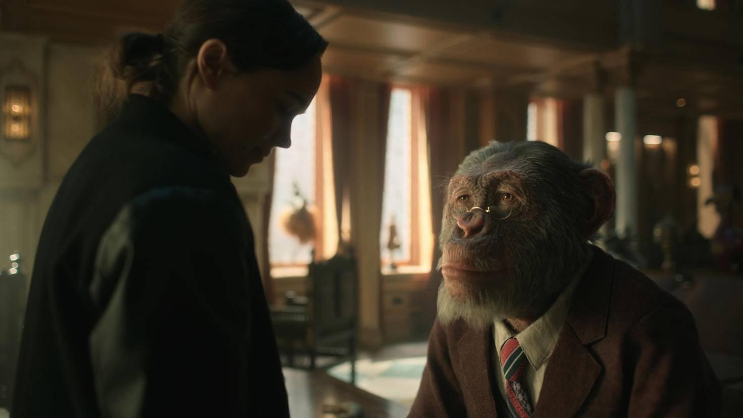 Schimpansen-Butler Pogo ist nicht der einzige schräge Mitbewohner in der Umbrella Academy!
