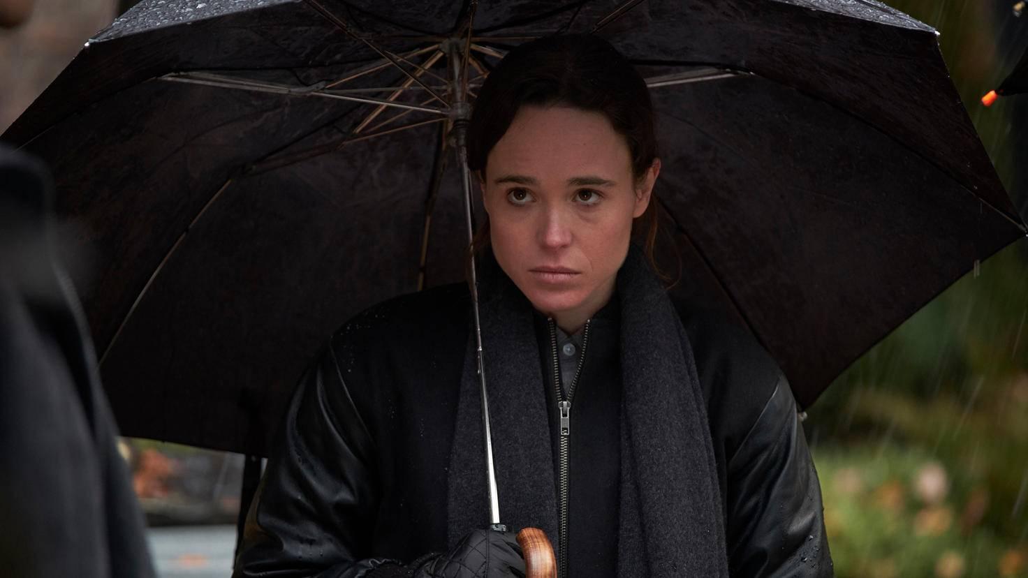 Ellen Page in Umbrella Academy 005 Christos Kalohoridis Netflix