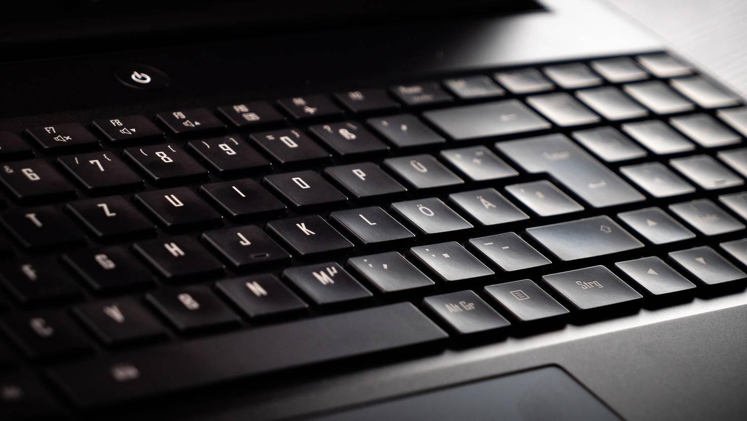 Die Chiclet-Tastatur hat eine angenehme Haptik.