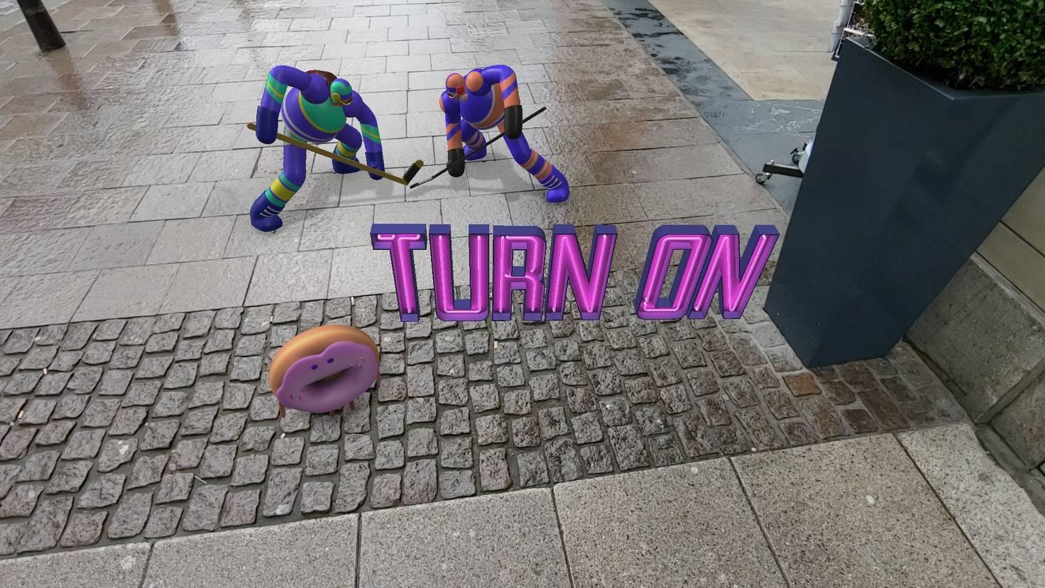 Augmented Reality lädt zu witzigen Spielereien ein.