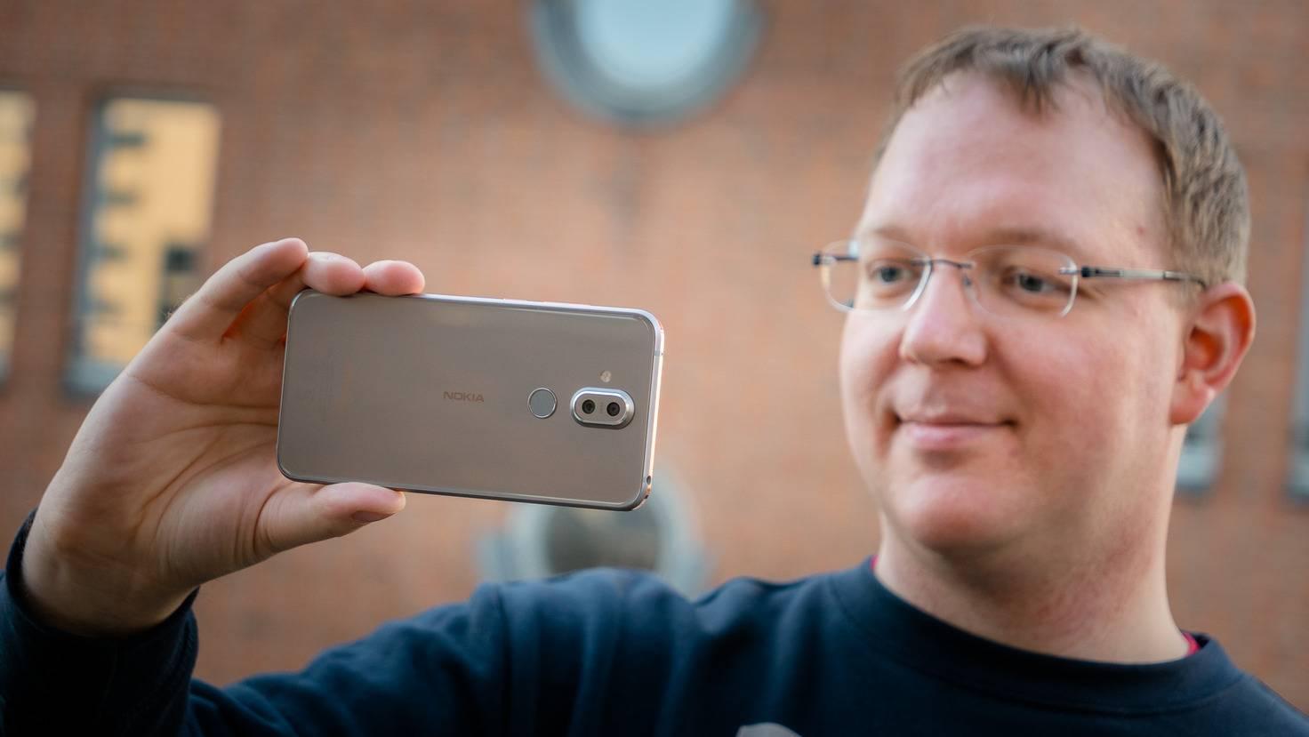 Das Nokia 8.1 ist ein gutes Mittelklasse-Smartphone ...