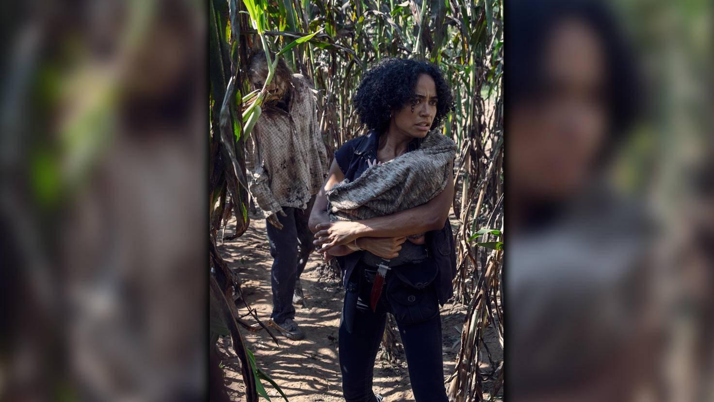 The Walking Dead-S09E11-Connie-Gene Page-AMC