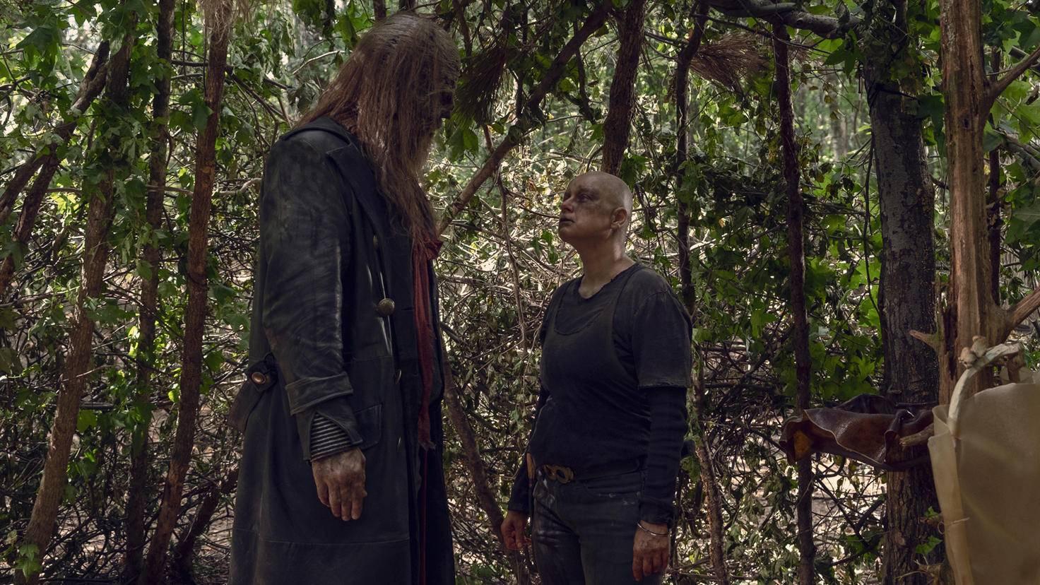 The Walking Dead-S09E12-Alpha-Beta-Gene Page-AMC