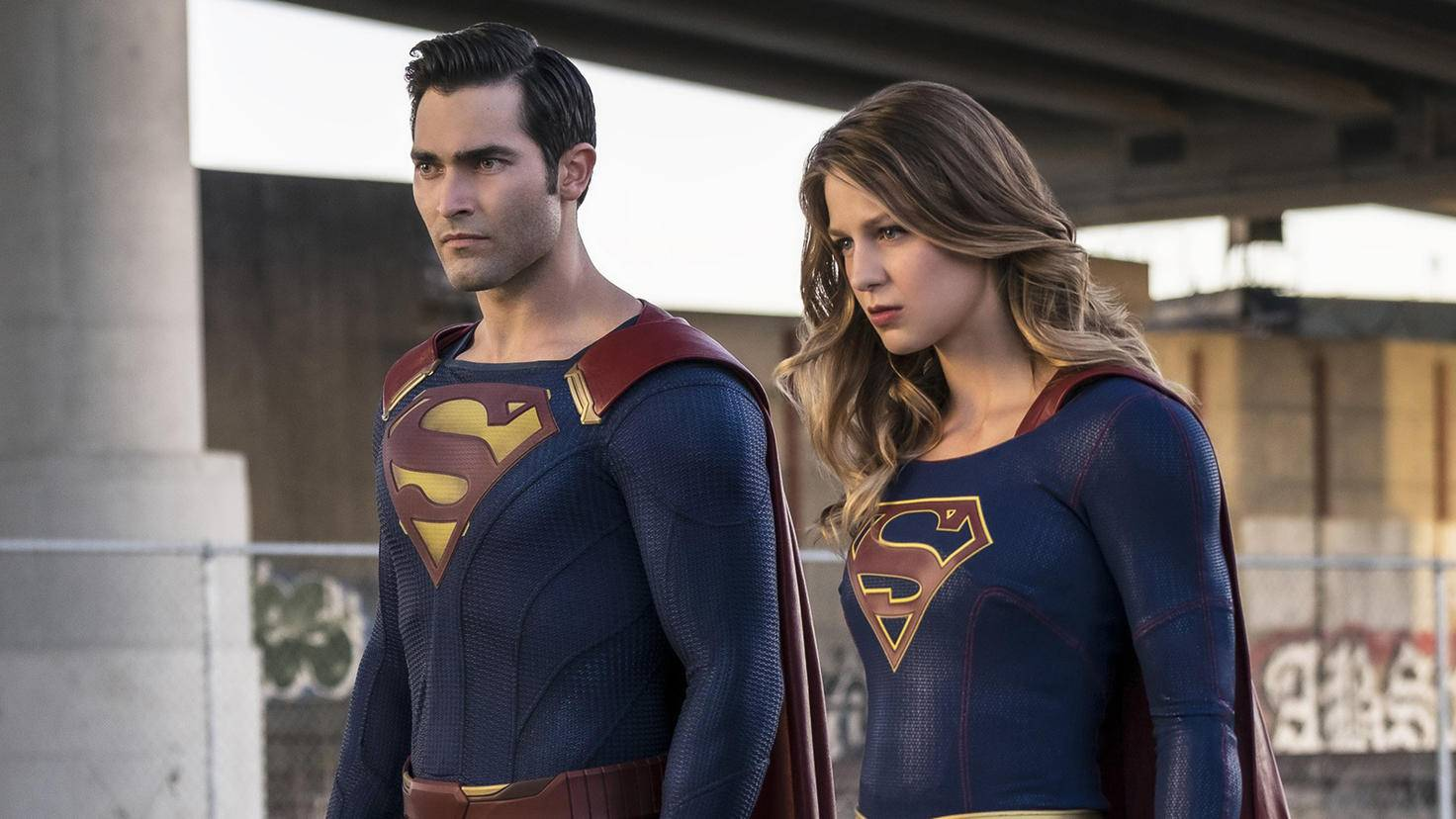 Superman Tyler Hoechlin und Melissa Benoist in Supergirl