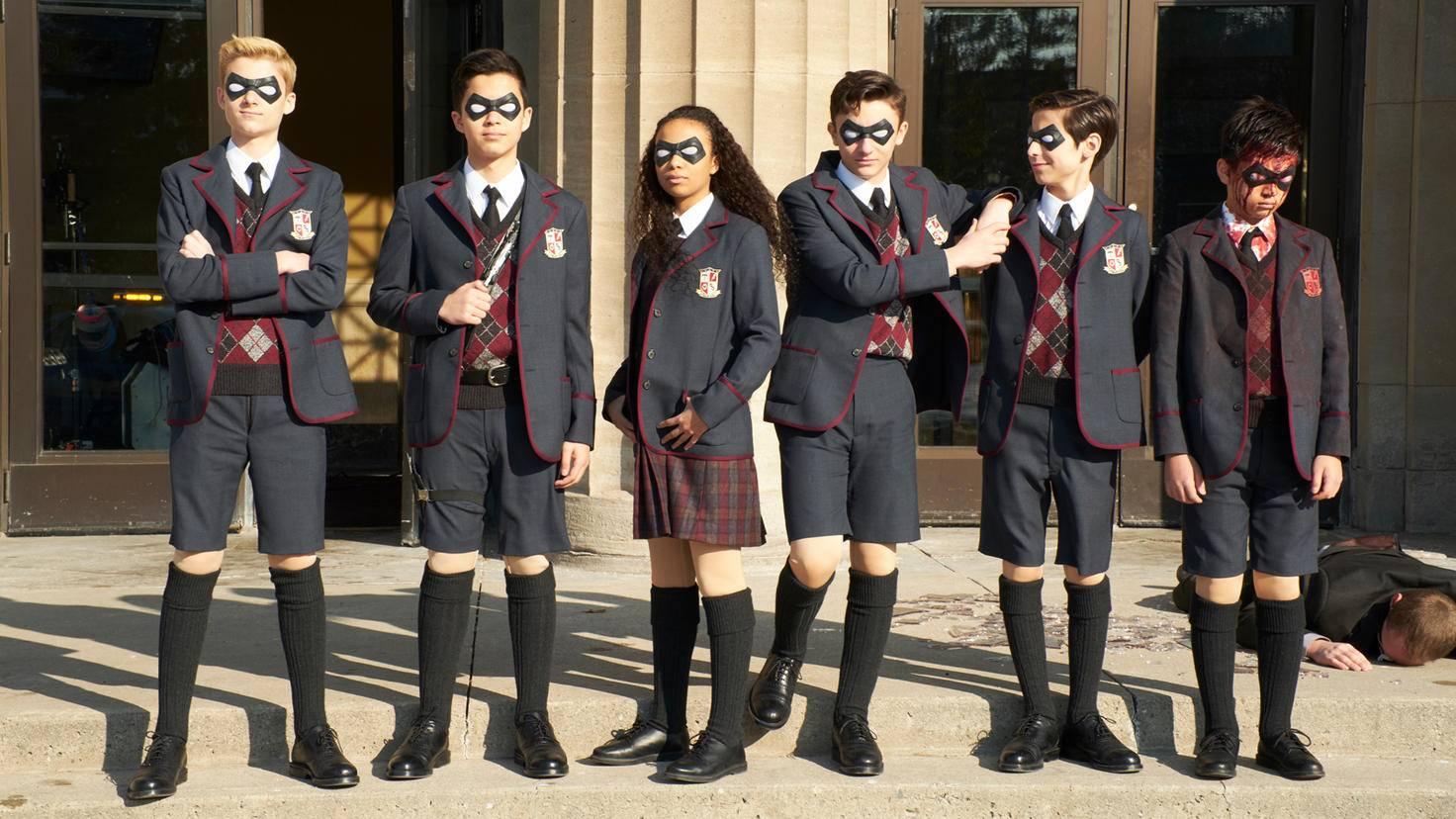 Umbrella Academy 002 Christos Kalohoridis Netflix