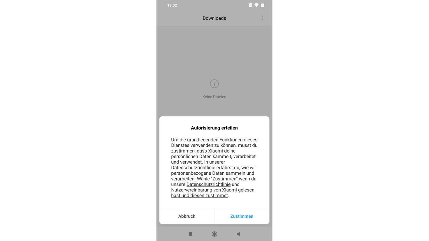 Warum möchte Xiaomis Download-Ordner persönliche Daten lesen?