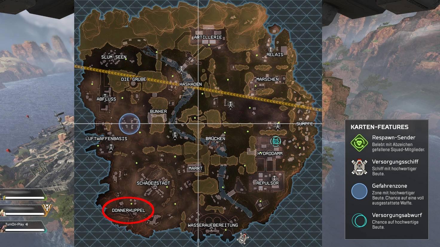 """Die Donnerkuppel ist ein guter Einstiegspunkt für """"Apex Legends""""-Anfänger."""
