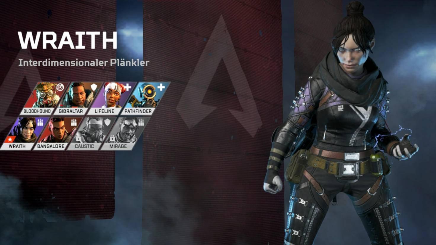 Nenn sie nicht Tracer: Wraith.