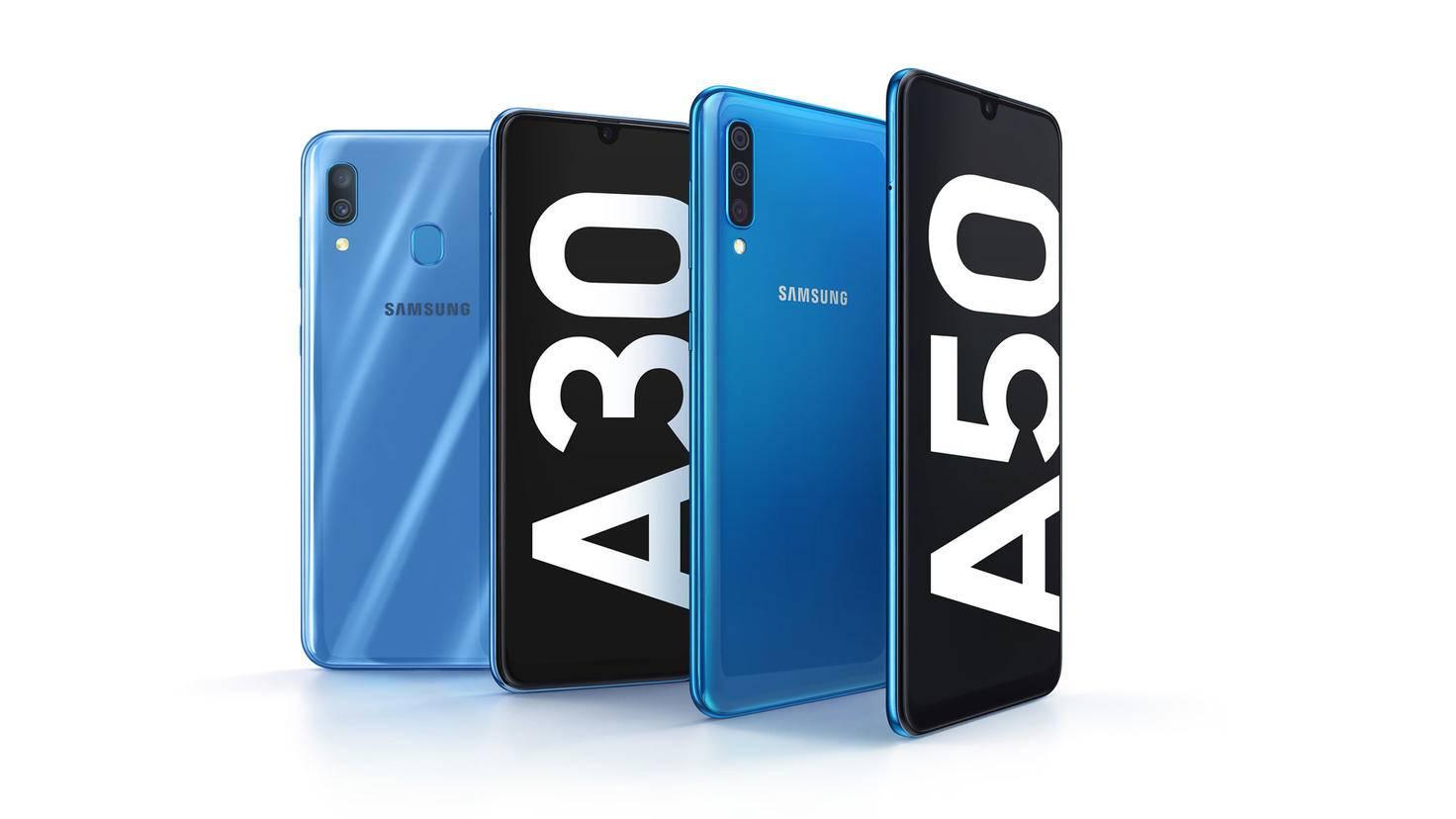 Galaxy A30 und A50