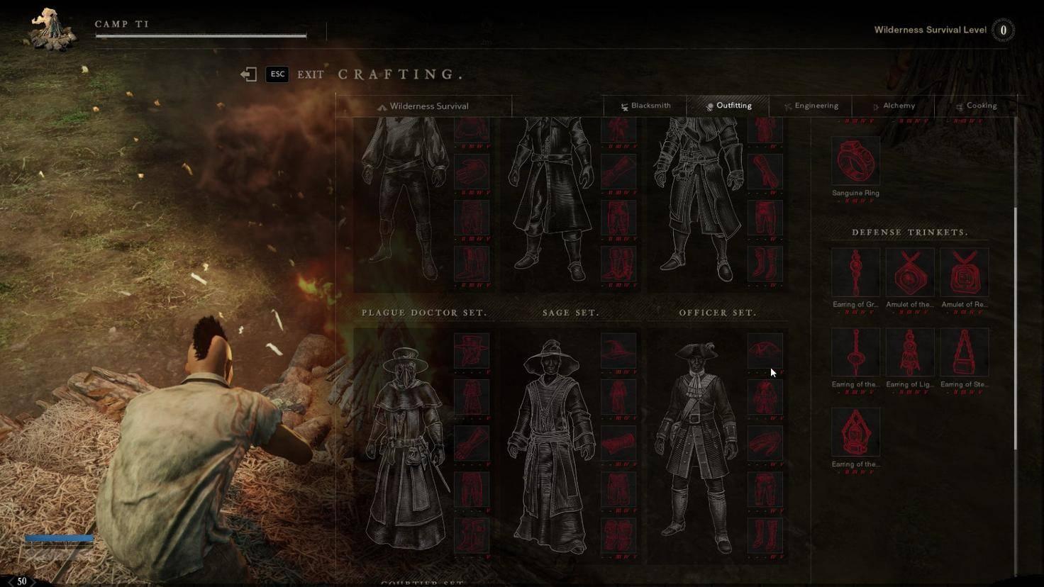 Das klassenlose System ermöglicht das Spielen verschiedener Charaktertypen durch Ausrüstungs-Sets.