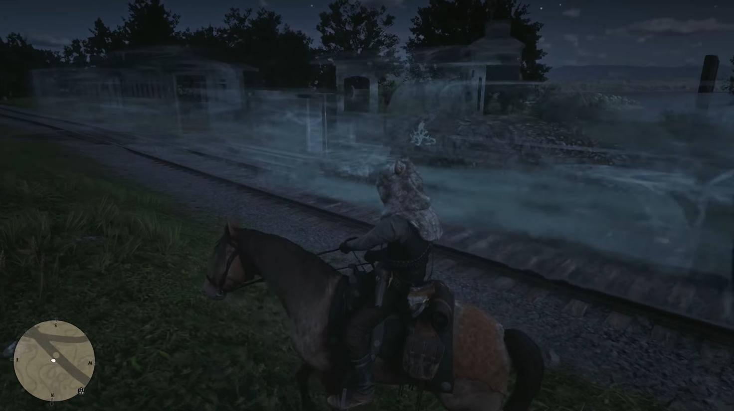 """Der Geisterzug ist eins der coolsten Easter Eggs in """"Red Dead Redemption 2""""."""