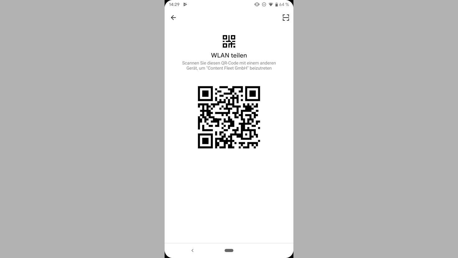 Android-q-wifi-qr-code