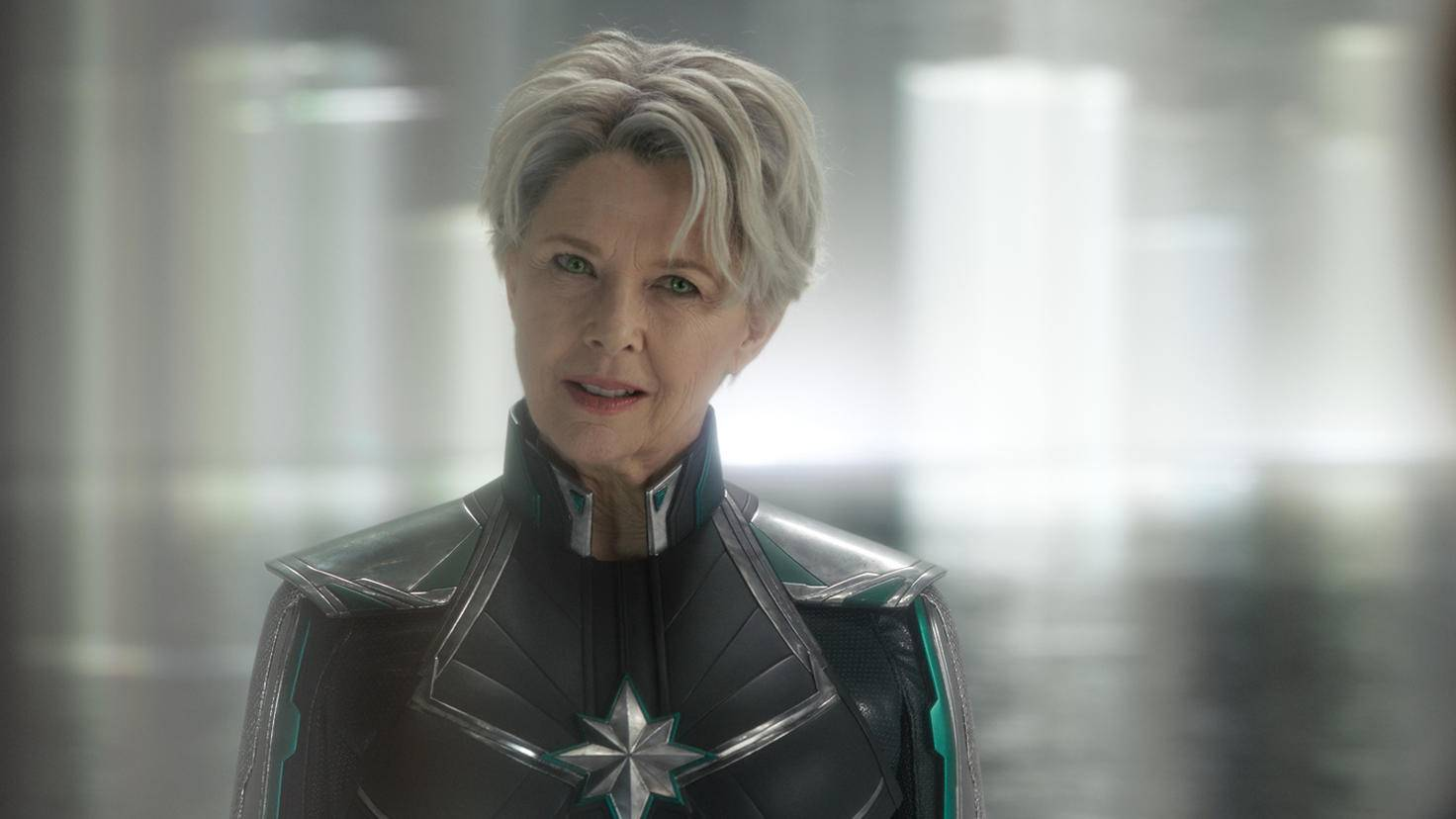 Annette Bening als Mar-Vell in Captain Marvel