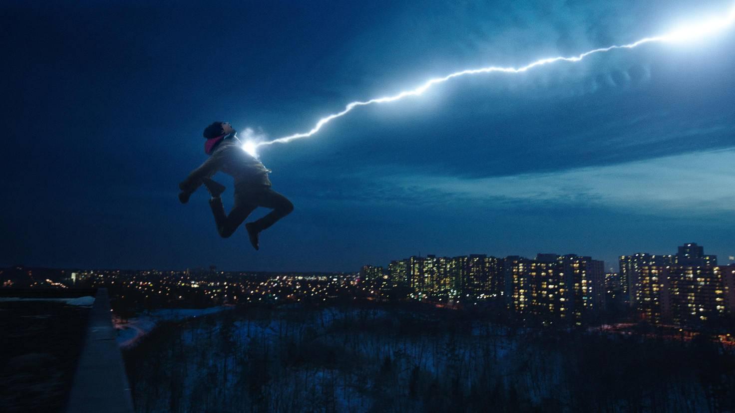 Asher Angel als Billy Batson in Shazam