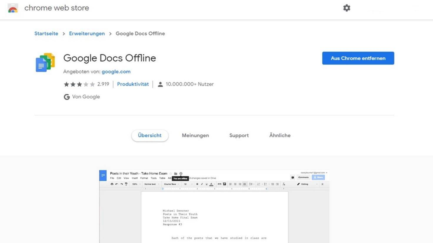 Google-Docs-Offline
