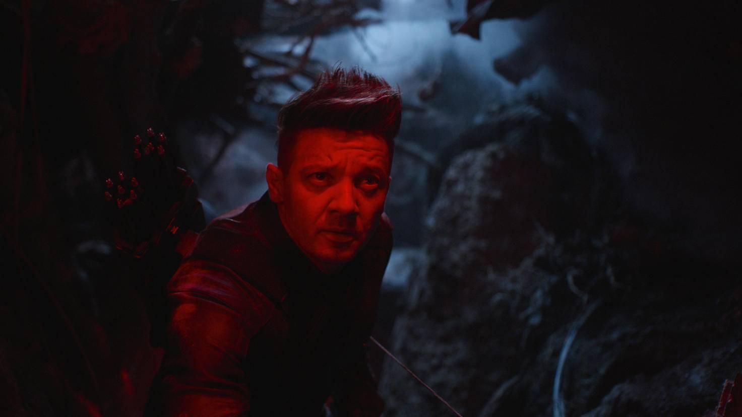 Jeremy Renner als Hawkeye Ronin in Avengers Endgame