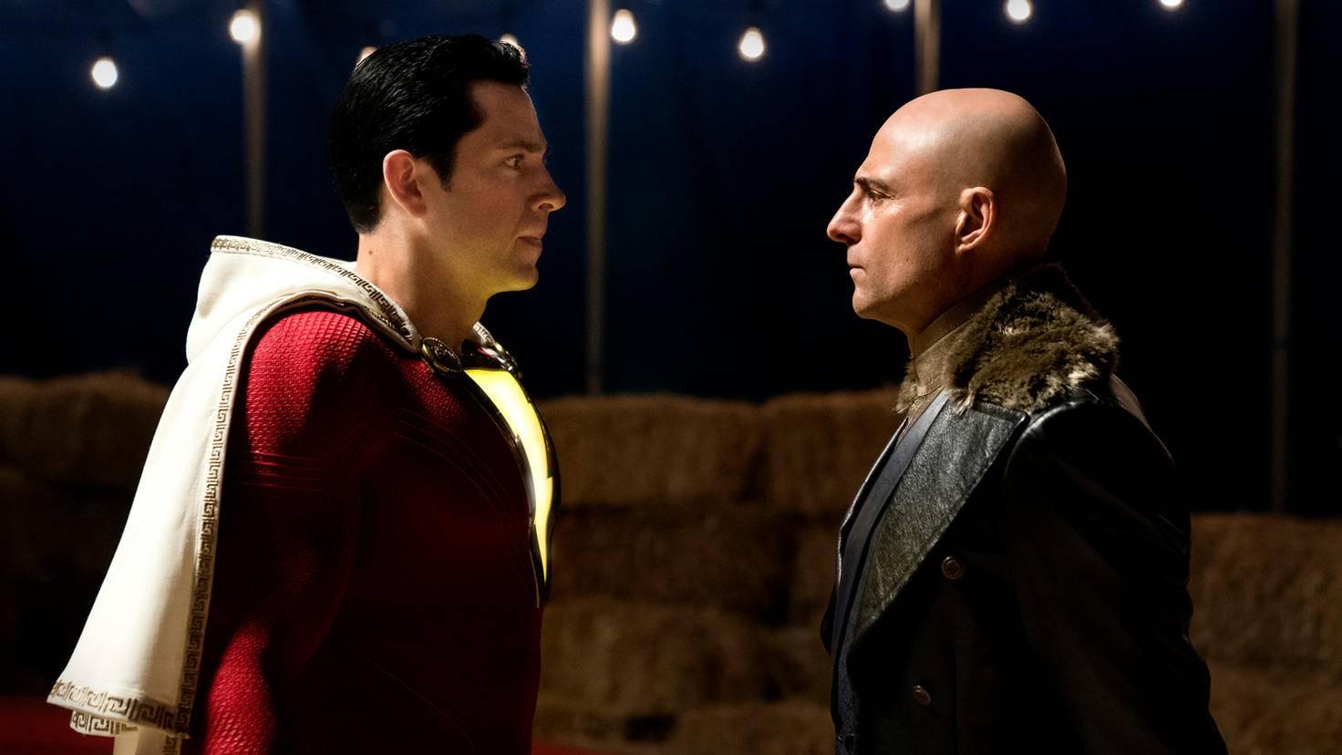 Shazam gegenüber steht Doctor Sivana.