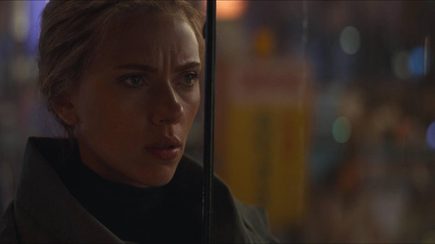 """... und Black Widow (Scarlett Johansson) haben sich seit dem ersten """"Avengers""""-Film 2012 deutlich weiter entwickelt."""