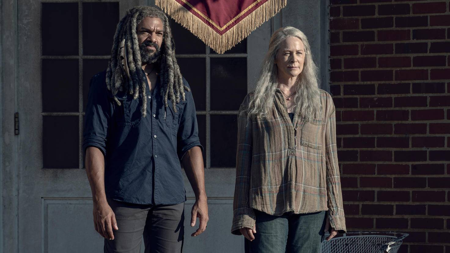 The Walking Dead-S09E13-Carol-Ezekiel-Jace Downs-AMC