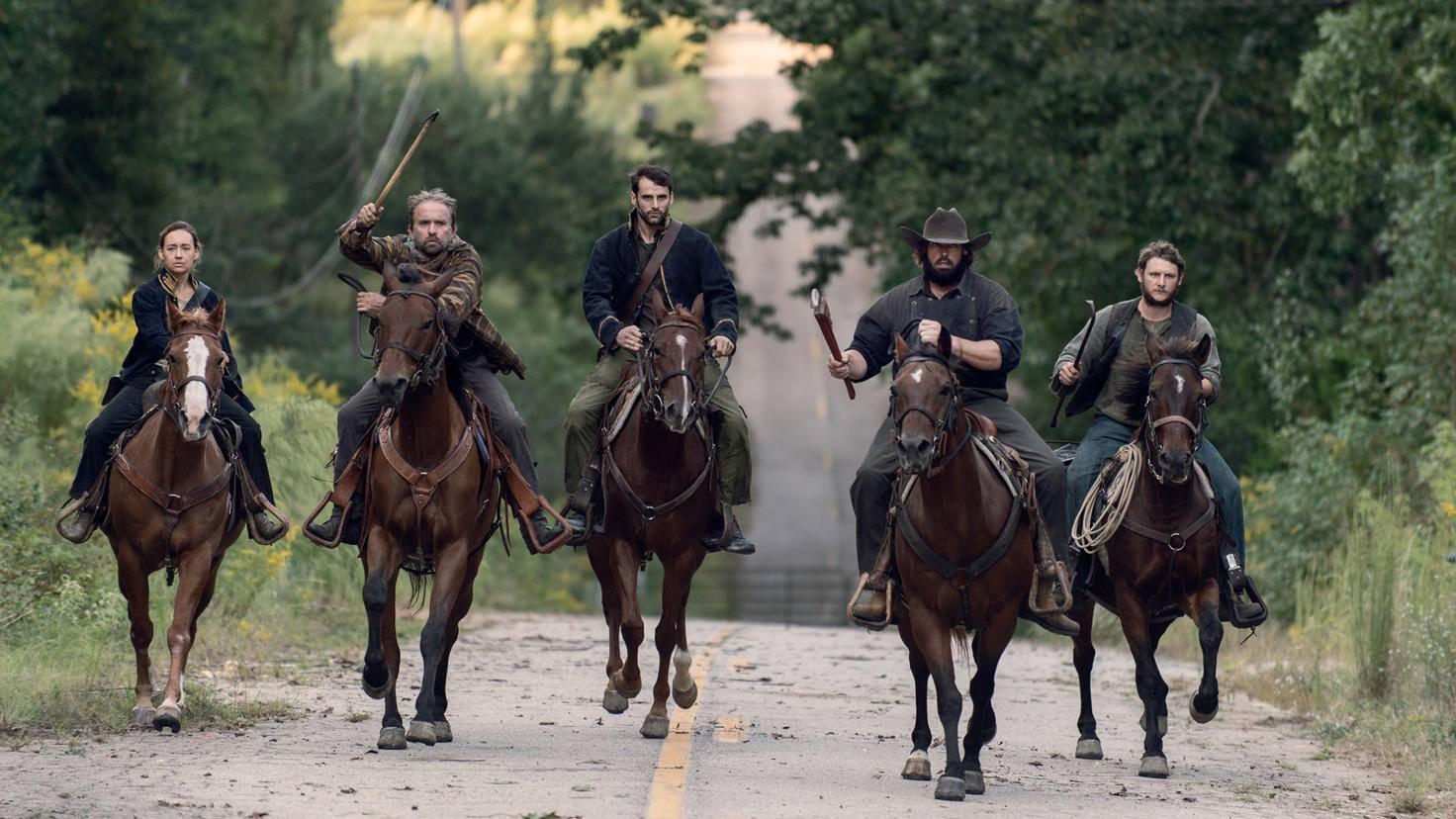 The Walking Dead-S09E13-Highwaymen-Ozzy-Gene Page-AMC