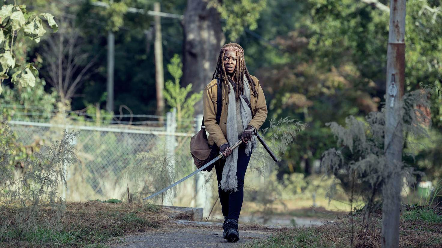 The Walking Dead-S09E14-Michonne-Gene Page-AMC