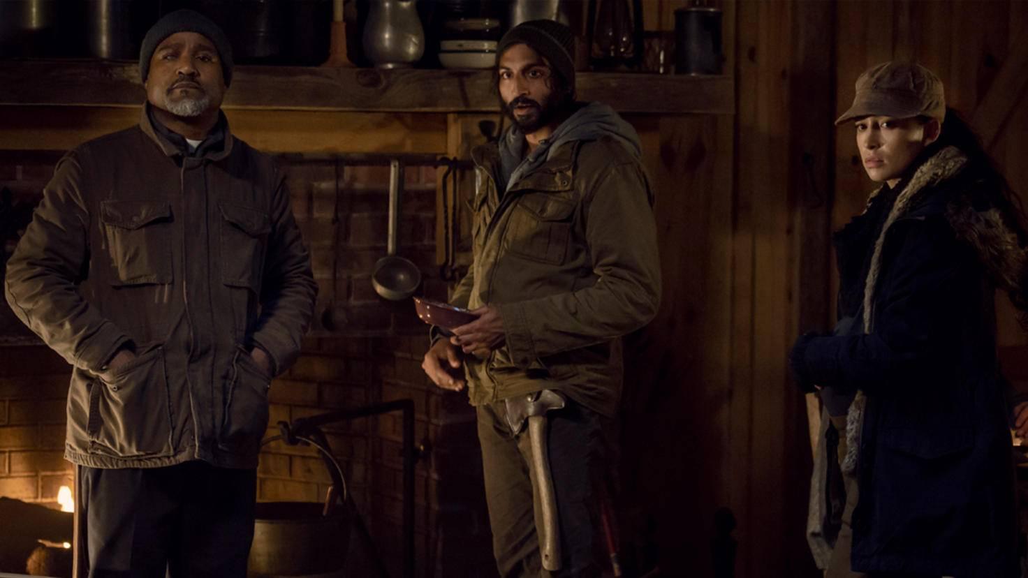 The Walking Dead-S09E16-Gabriel-Siddiq-Rosita-Gene Page-AMC