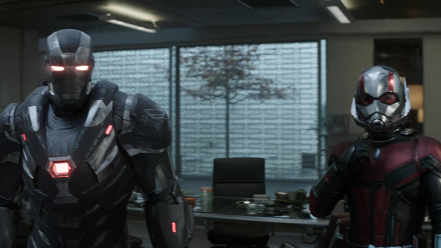 War Machine und Ant-Man in Avengers Endgame