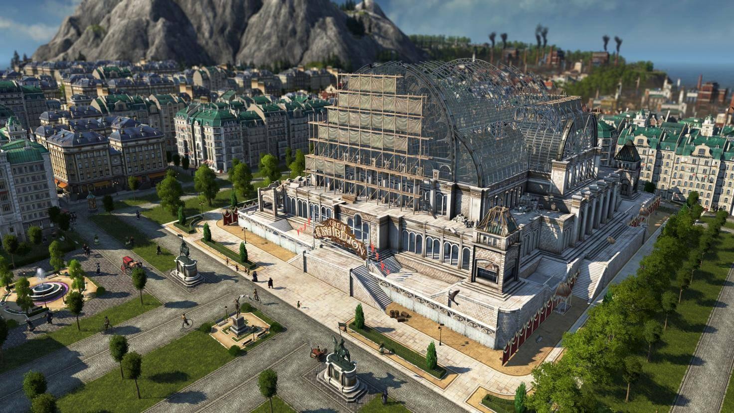 """Beeindruckende Bauten und monströse Monumente warten in """"Anno 1800"""" darauf, errichtet zu werden."""