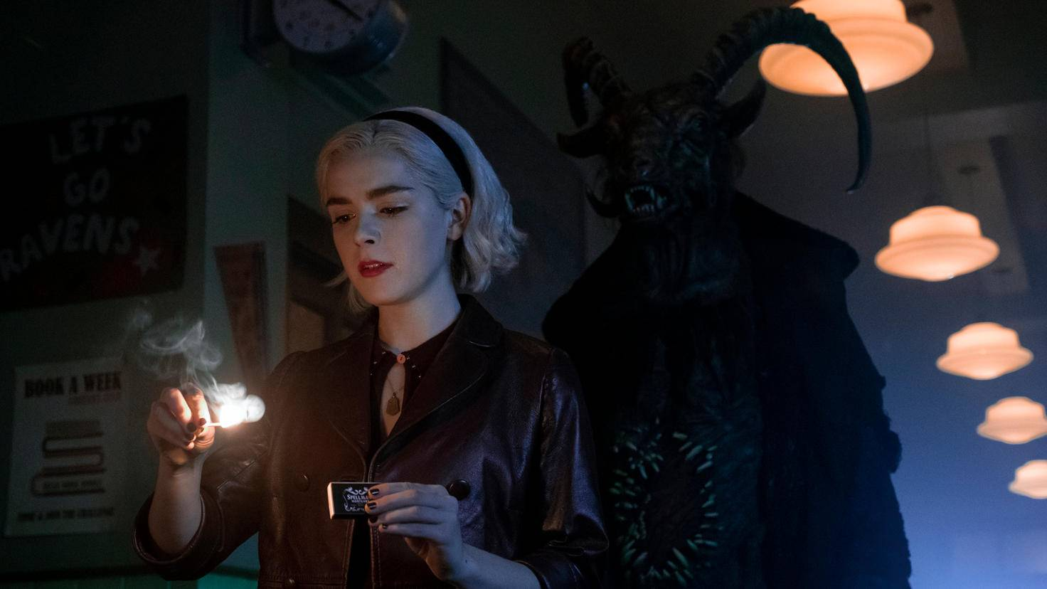 chilling adventures of sabrina kiernan shipka staffel 2