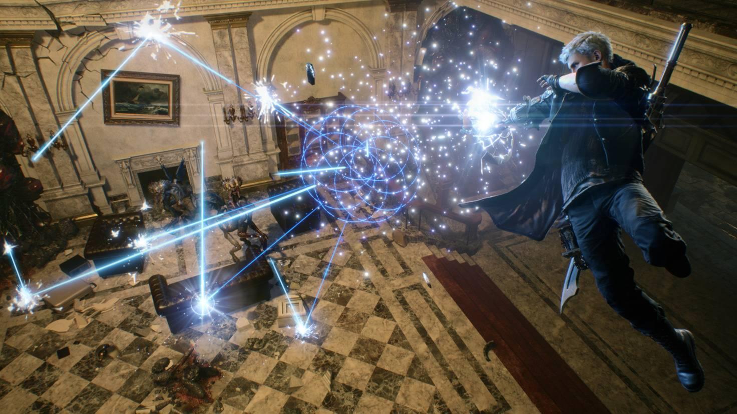 Mit den Devil Bringern verfügt er über mächtige Cyborg-Arme mit verschiedenen Fähigkeiten.