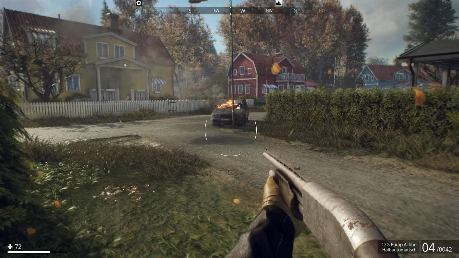 Auf einem Screenshot ist dieses schwedische Dörfchen nett, doch wenn man das dritte oder vierte gesehen hat, wird's öde ...