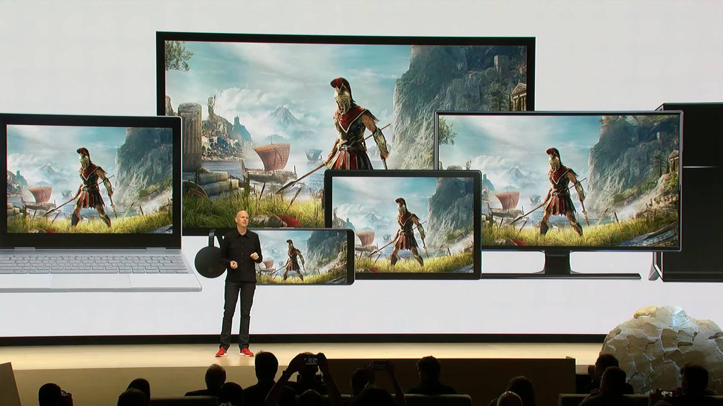 Vom Smartphone bis zum 4K-Fernseher: Google Stadia soll auf fast allen Geräten laufen.