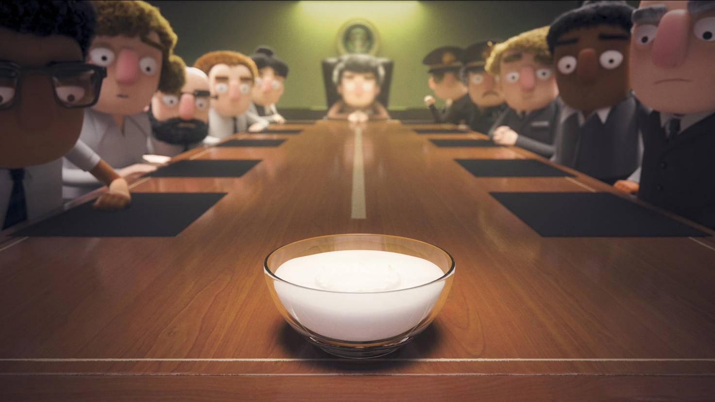"""""""Als der Joghurt die Kontrolle übernahm"""", wurden die Menschen ganz still."""