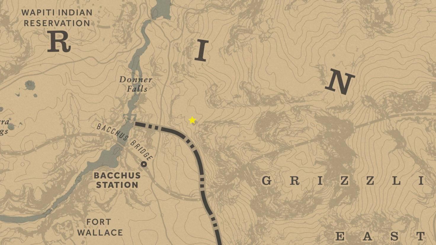 Das Hobbit-Haus befindet sich nordöstlich der Bacchus Station.