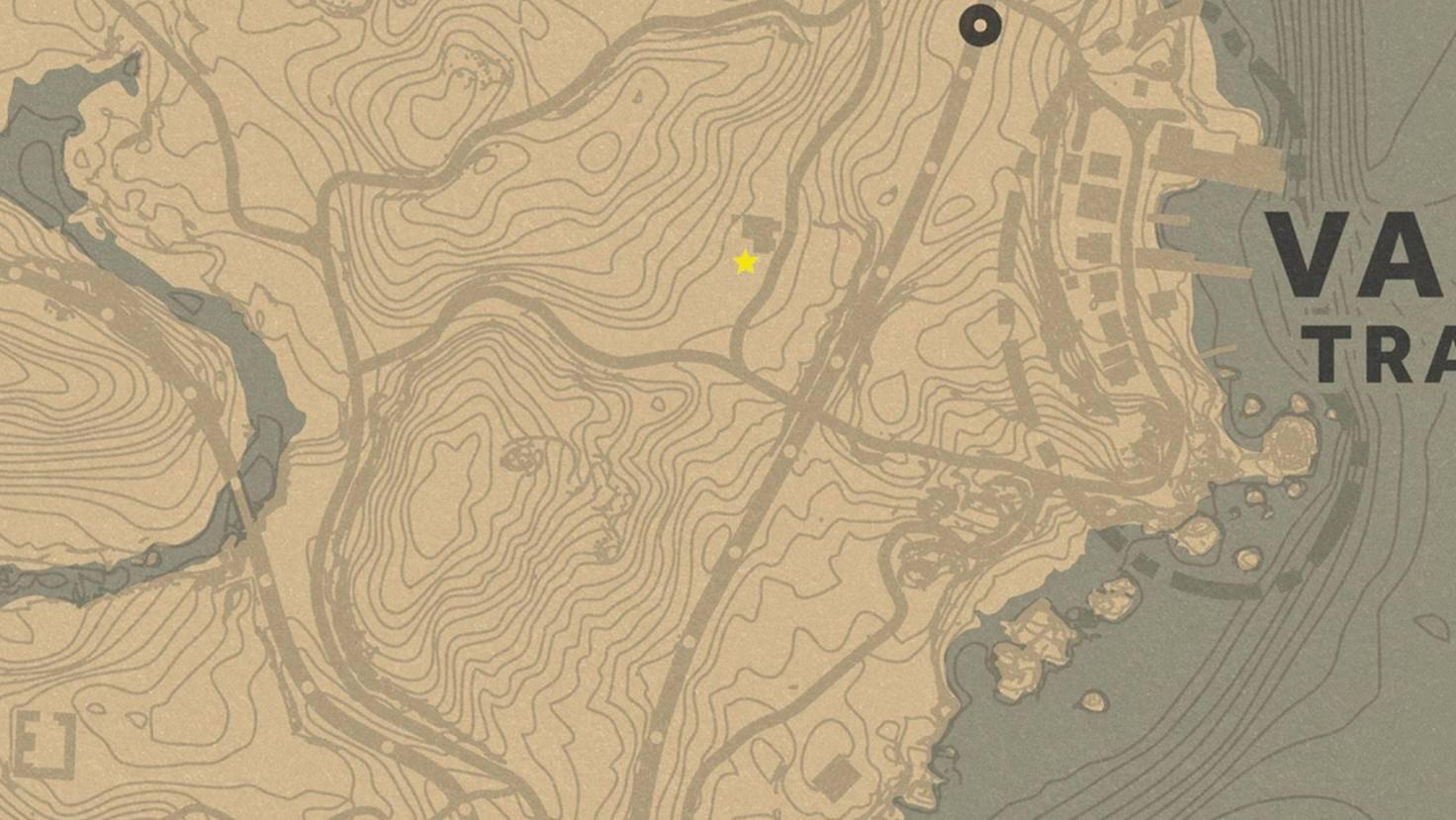 Das Haus, in dem dieses schändliche Experiment stattgefunden hat, befindet sich westlich von Van Horn.