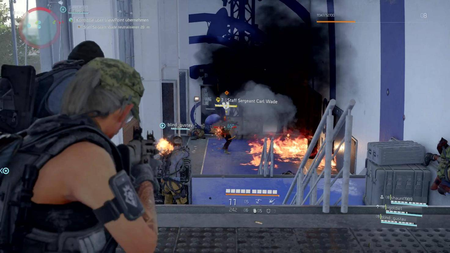 Verbesserte Details: Bei Gegnern kann jetzt gezielt Panzerung zerstört werden.