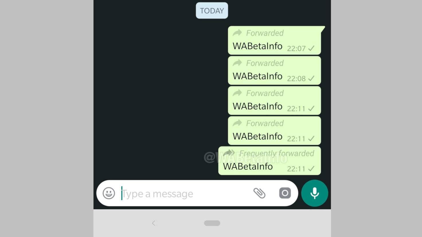 whatsapp-nachricht-weiterleiten