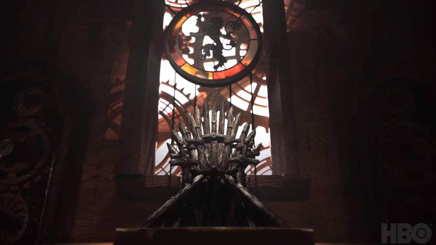 Und natürlich zu guter Letzt der Eiserne Thron.