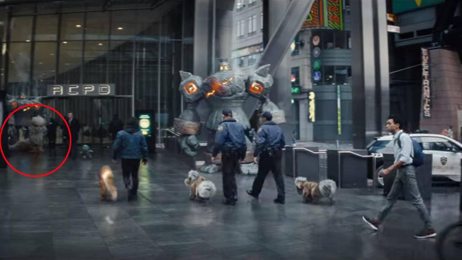 Arkani in Pokémon Meisterdetektiv Pikachu Trailer 2