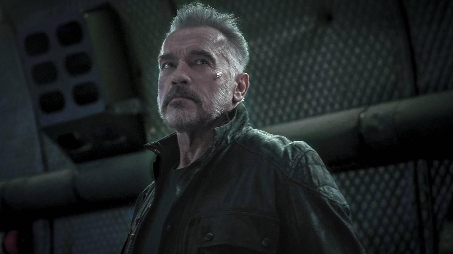 Arnold Schwarzenegger als T-800 in Terminator: Dark Fate