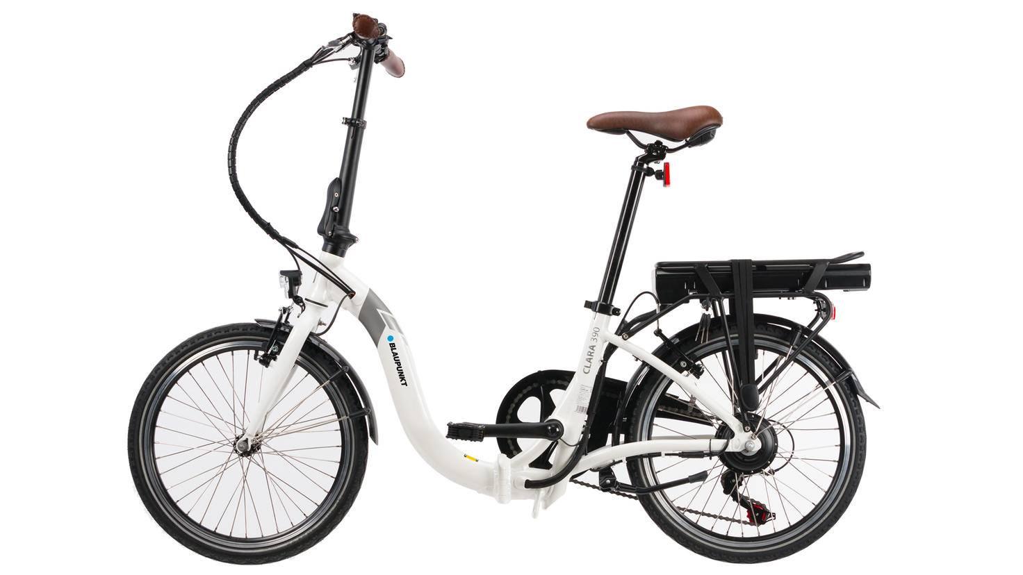 Die Besonderheit von E-Bike Clara 390 ist sein tiefer Einstieg.