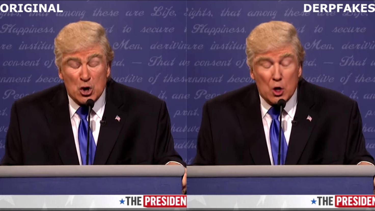 Deepfakes Trump