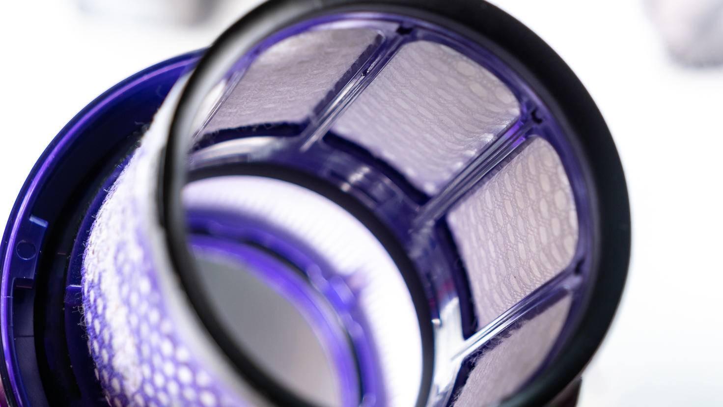 So sieht der Filter von innen aus.