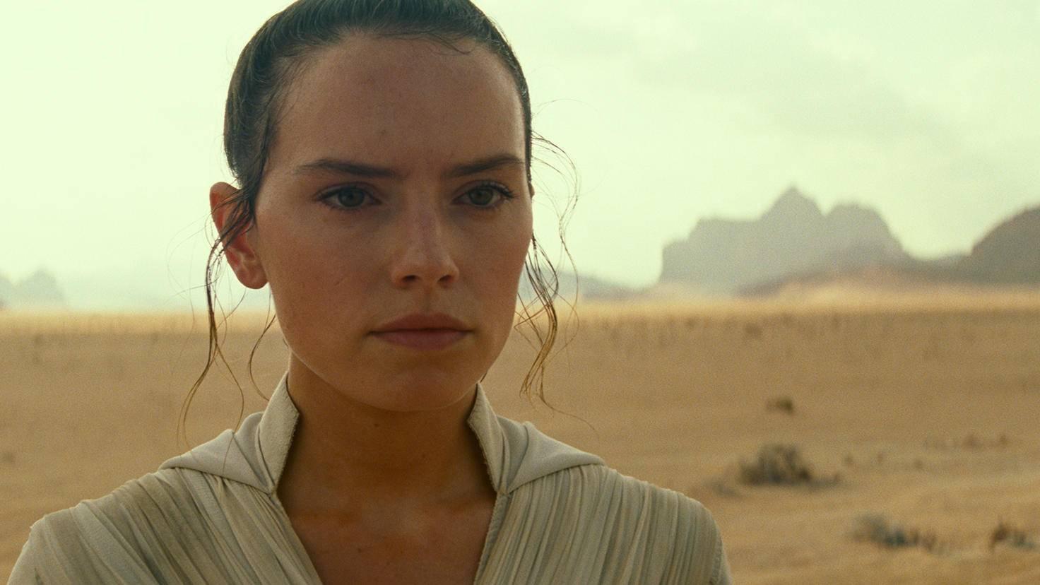 """Rey steht im ersten Trailer zu """"Episode 9"""" eindeutig im Fokus."""