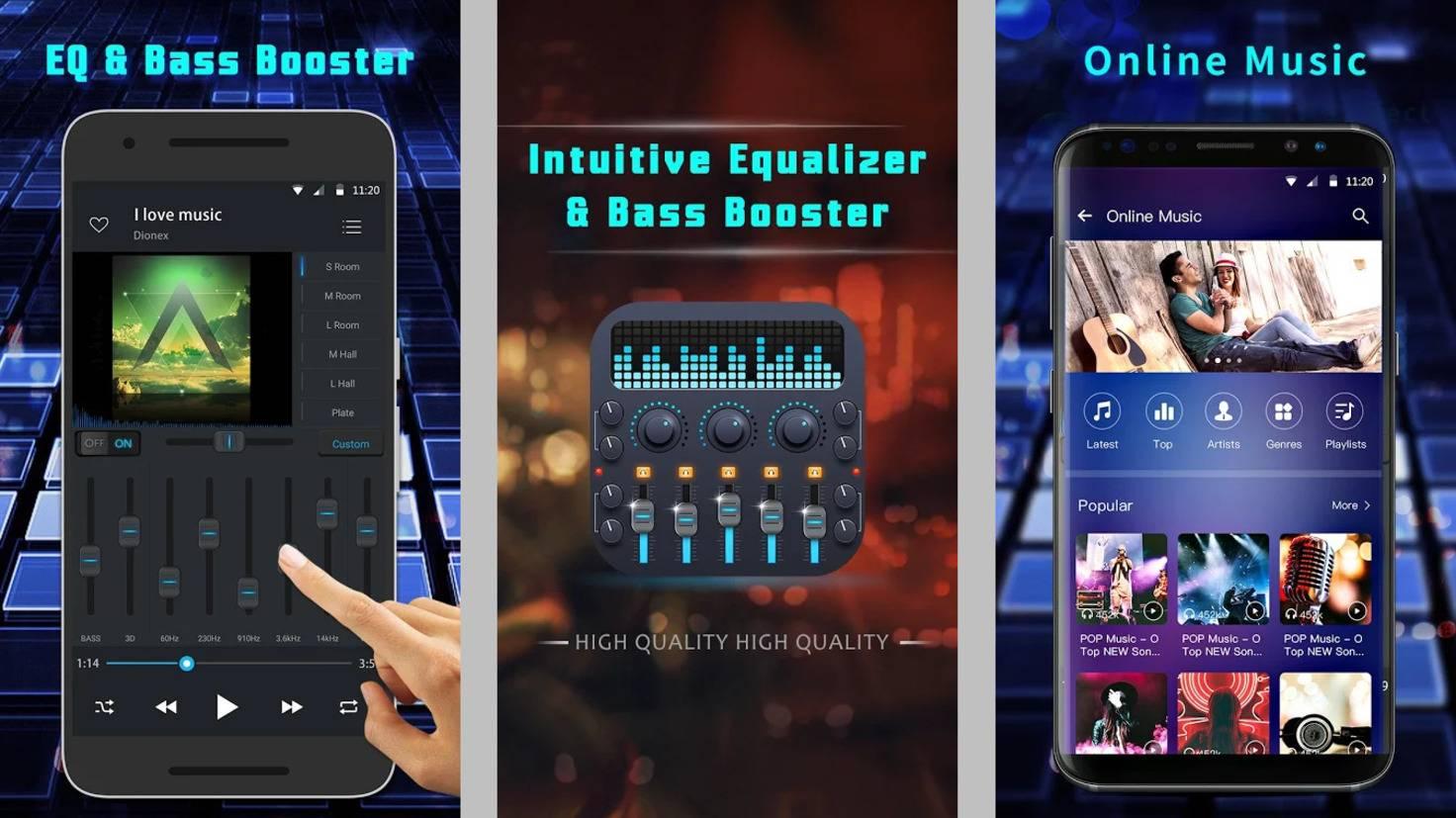 Equalizer-music-player-app